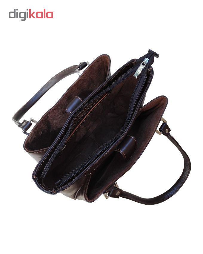 کیف دستی زنانه چرم زانکو مدل KD-1219