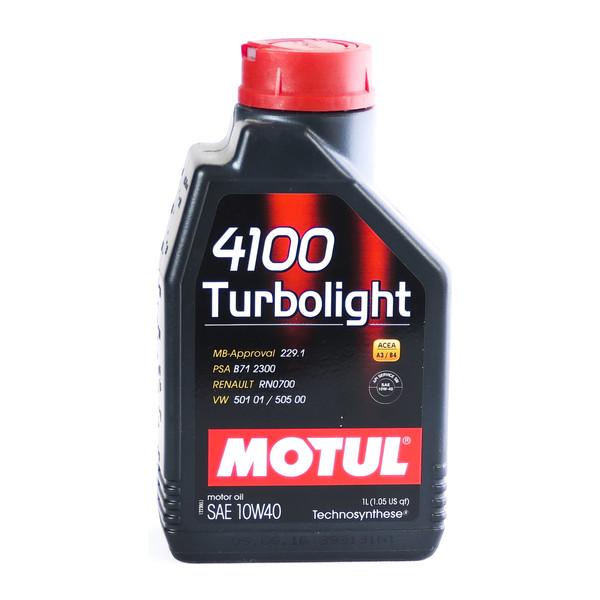 روغن موتور موتول مدل 4100 turbolight