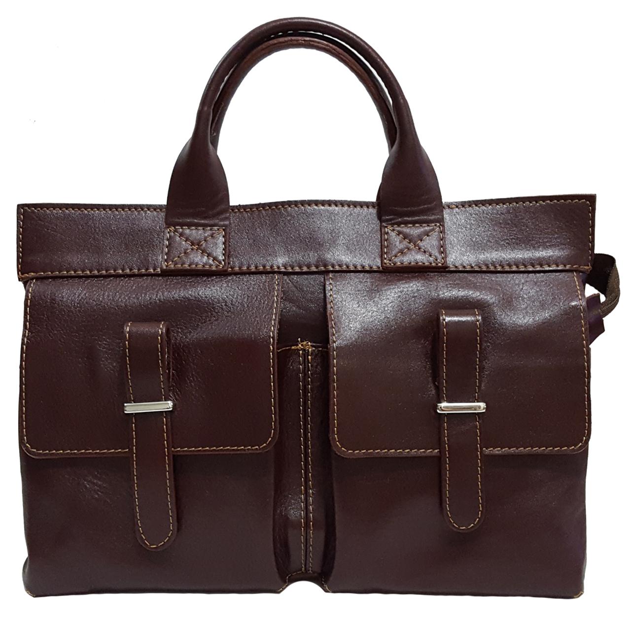 کیف دستی زنانه چرم زانکو مدل 2 -KD-778977