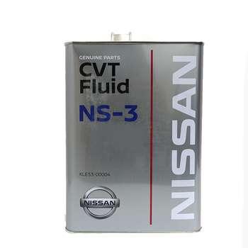 تصویر روغن گیربکس خودرو نیسان مدل ATF CVT NS-3 حجم 4 لیتر