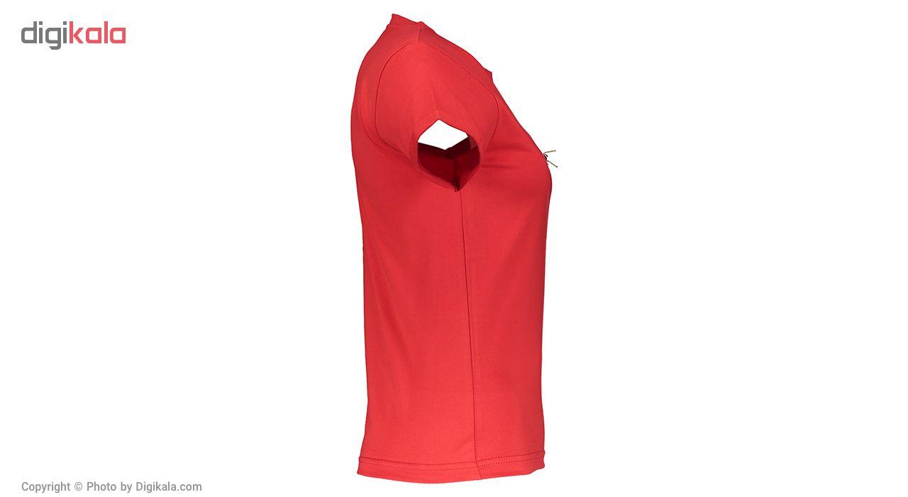 تی شرت زنانه زیبو مدل 1119006-RD