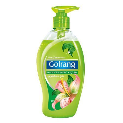 مایع دستشویی سبز گلرنگ مقدار 500 گرم