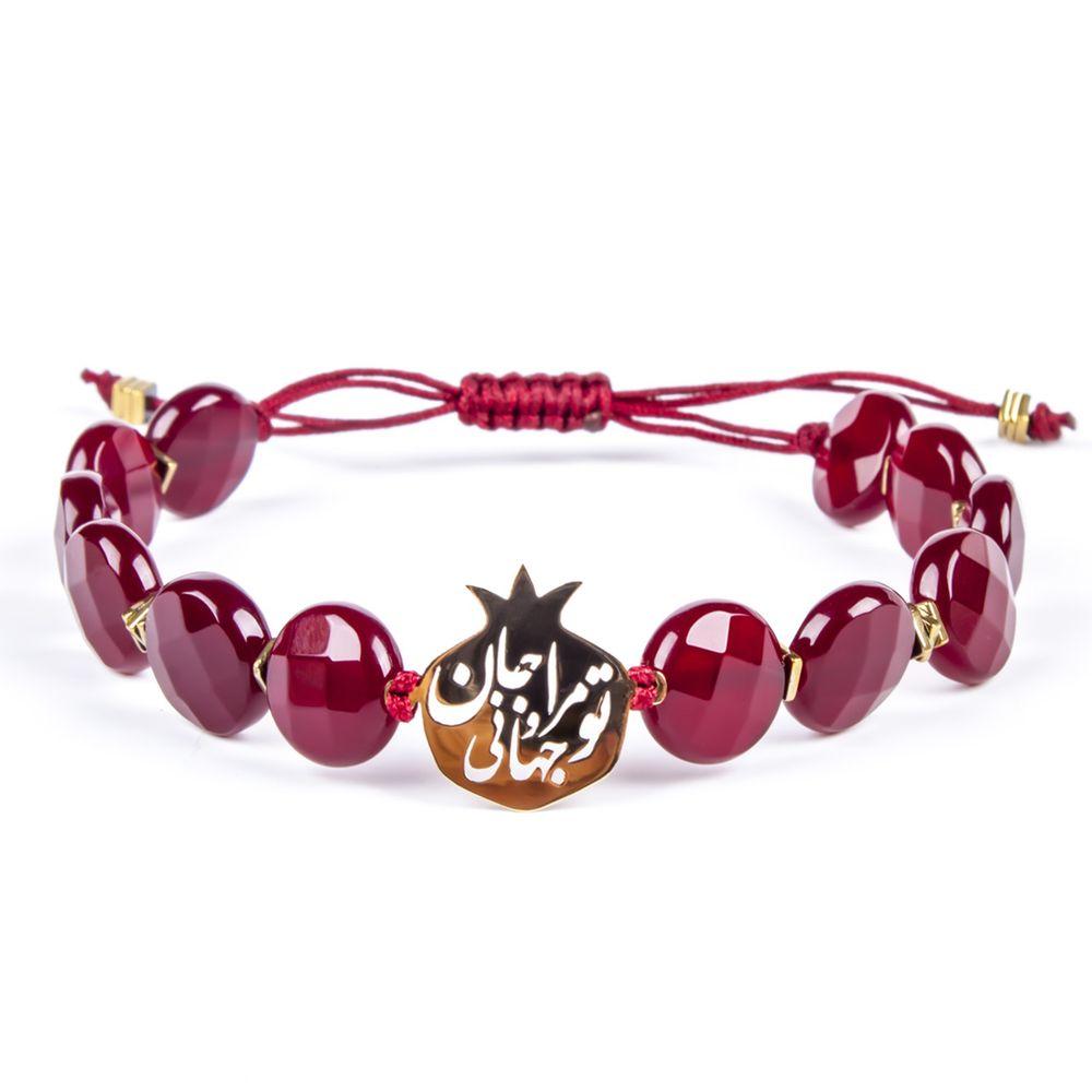 دستبند طلا 18 عیار زنانه ریسه گالری مدل Ri3-A1100-Gold