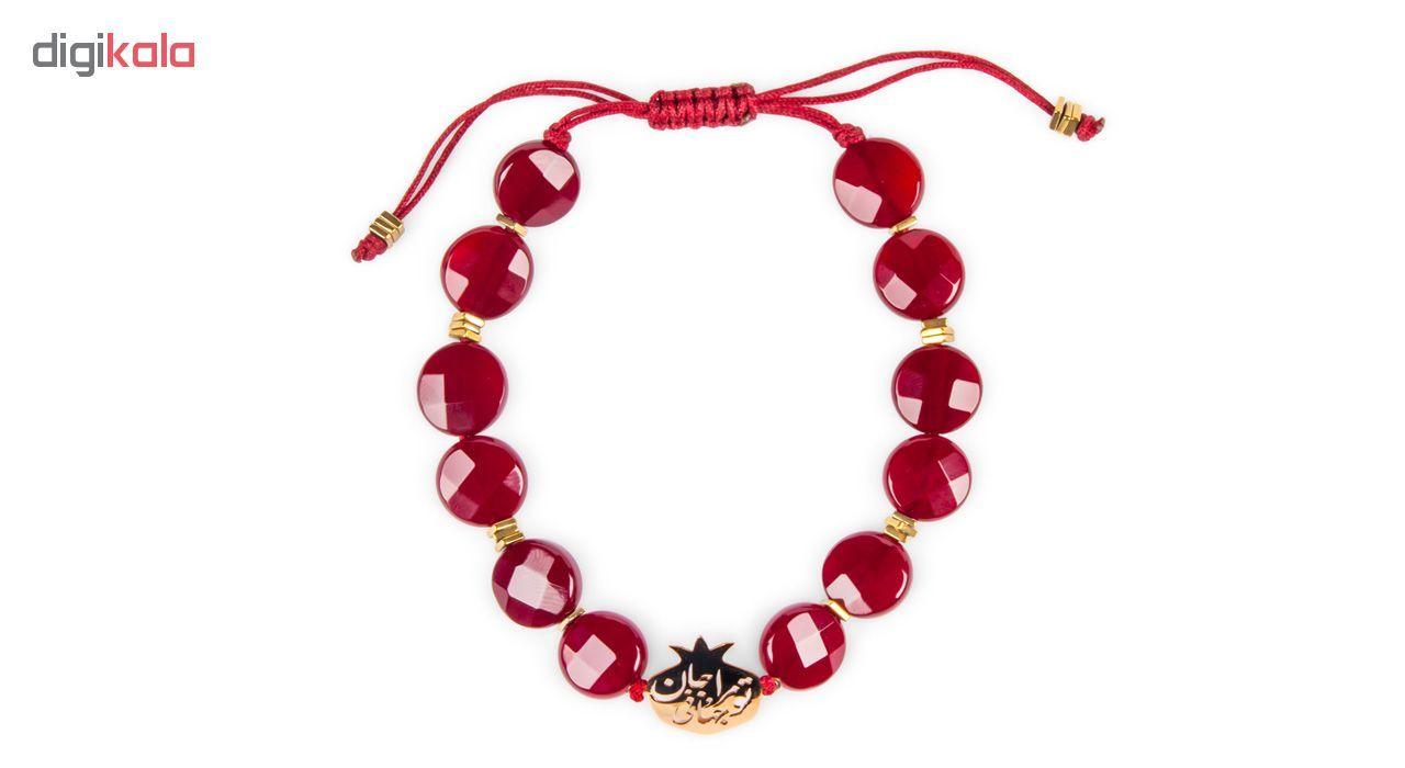 دستبند طلا 18 عیار زنانه ریسه گالری مدل Ri3-A1100-Gold -  - 4