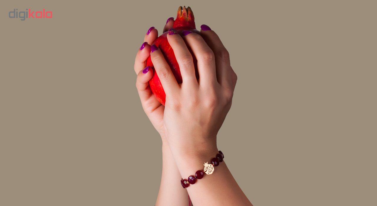 دستبند طلا 18 عیار زنانه ریسه گالری مدل Ri3-A1100-Gold -  - 5