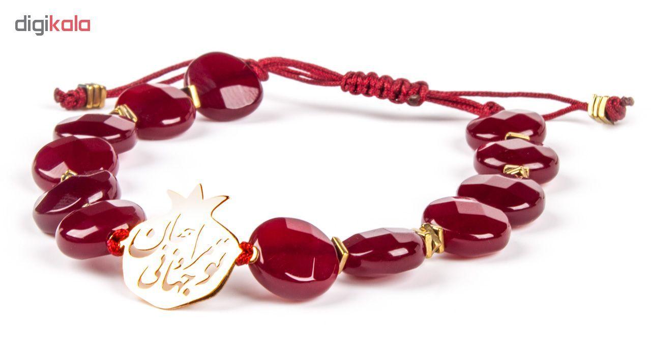 دستبند طلا 18 عیار زنانه ریسه گالری مدل Ri3-A1100-Gold -  - 8