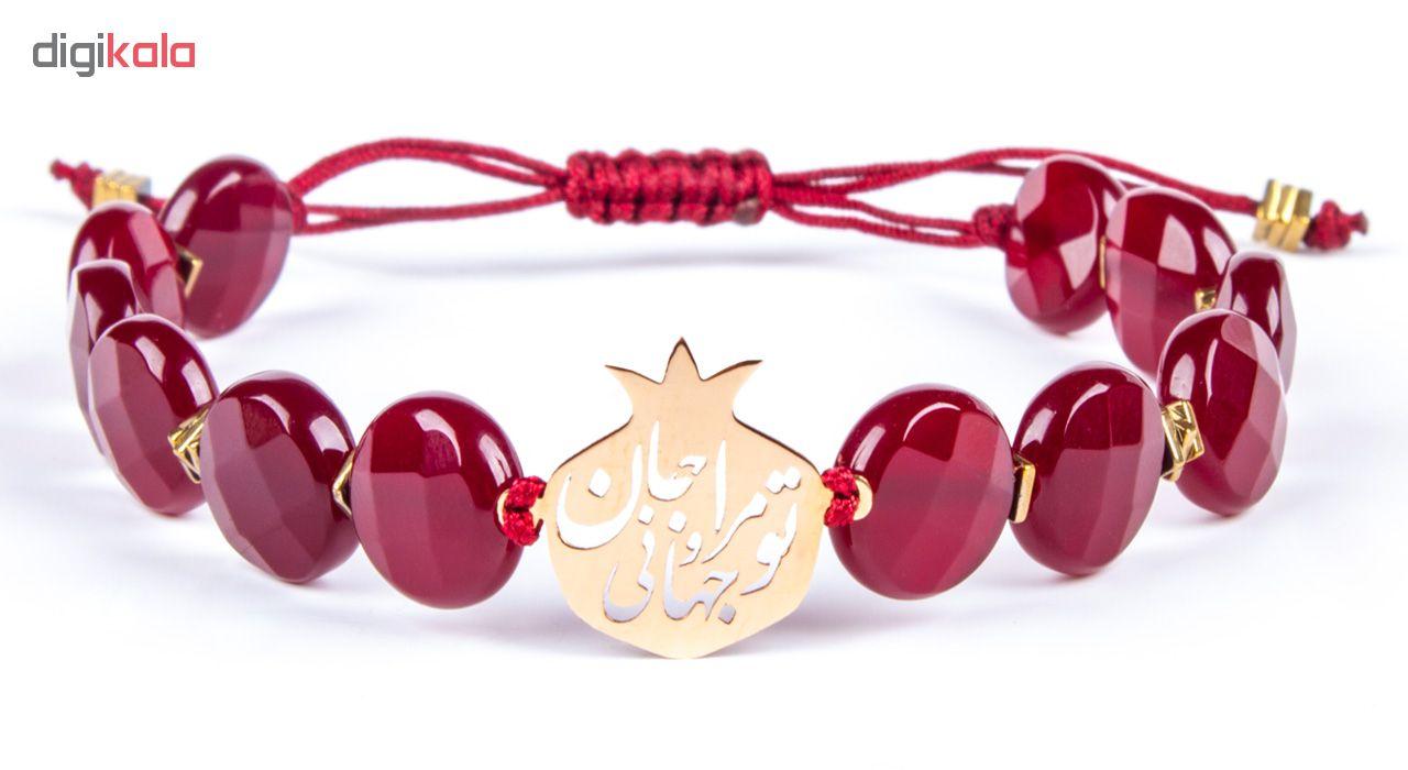 دستبند طلا 18 عیار زنانه ریسه گالری مدل Ri3-A1100-Gold -  - 10
