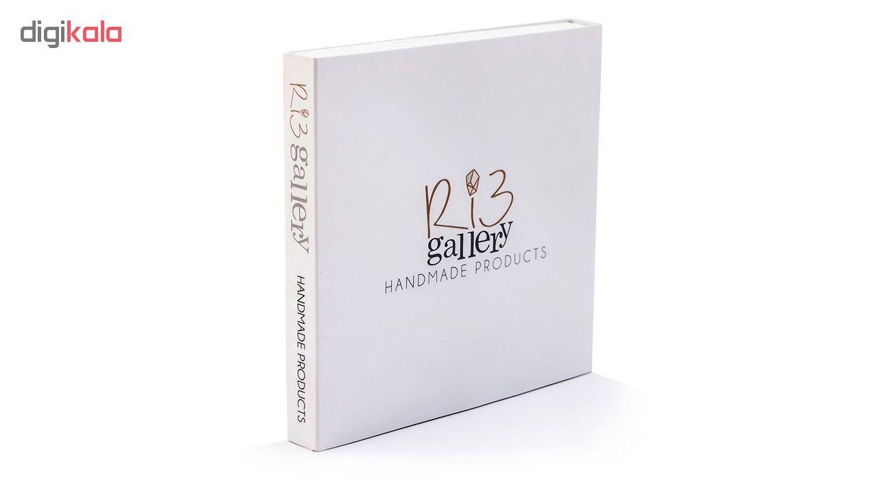 دستبند طلا 18 عیار زنانه ریسه گالری مدل Ri3-A1100-Gold -  - 12