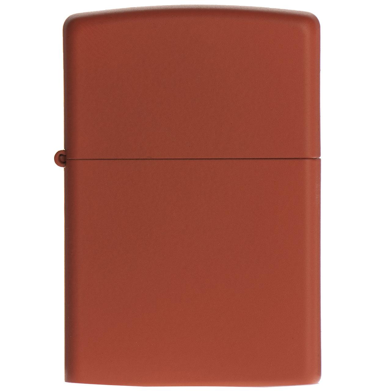 فندک زیپو مدل Req Orange Matte کد 231  در بزرگترین فروشگاه اینترنتی جنوب کشور ویزمارکت