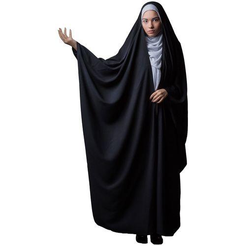 چادر جده کرپ کن کن حجاب فاطمی مدل201045kn