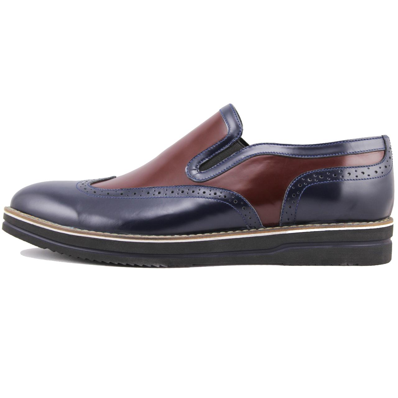 عکس کفش مردانه چرم طبیعی ژاو مدل 1176