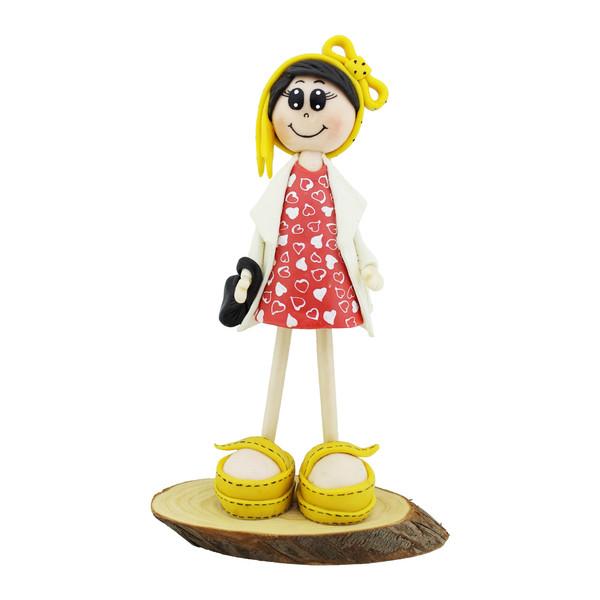 مجسمه خمیری مدل LOVE GIRL