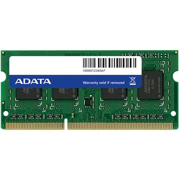 رم لپ تاپ ای دیتا مدل Premier DDR3L 1600MHz ظرفیت 8 گیگابایت | Adata Premier PC3L-12800 DDR3L 1600MHz Notebook Memory - 8GB