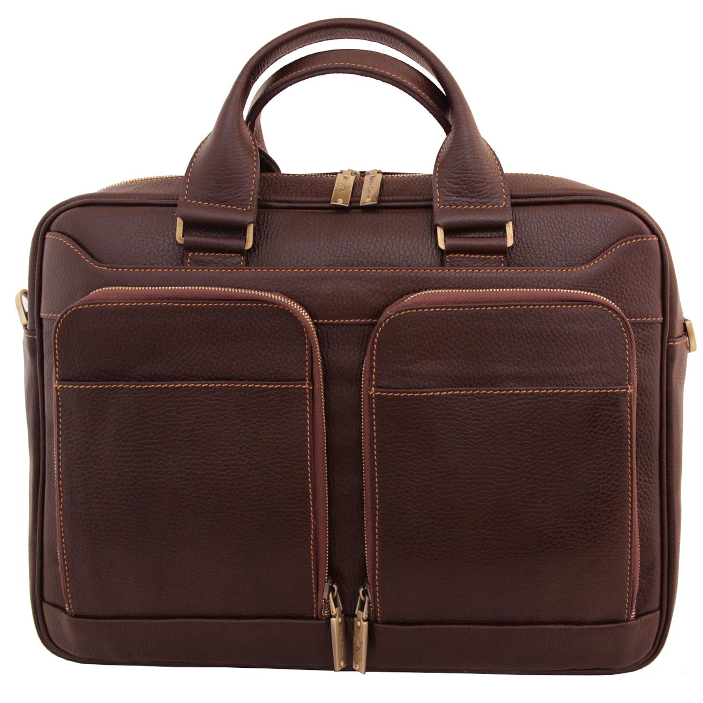 قیمت کیف اداری چرم طبیعی آدین چرم مدل DL56