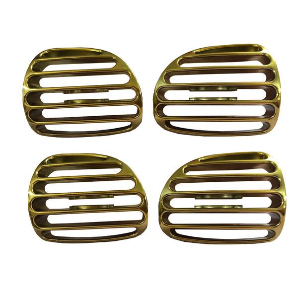 دریچه قاب کولر سام اسپرت مدل Ecars مناسب برای پژو 206 بسته 4 عددی