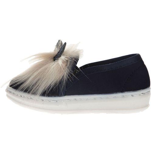 کفش بچگانه طرح خرگوش سرمه ای رنگ