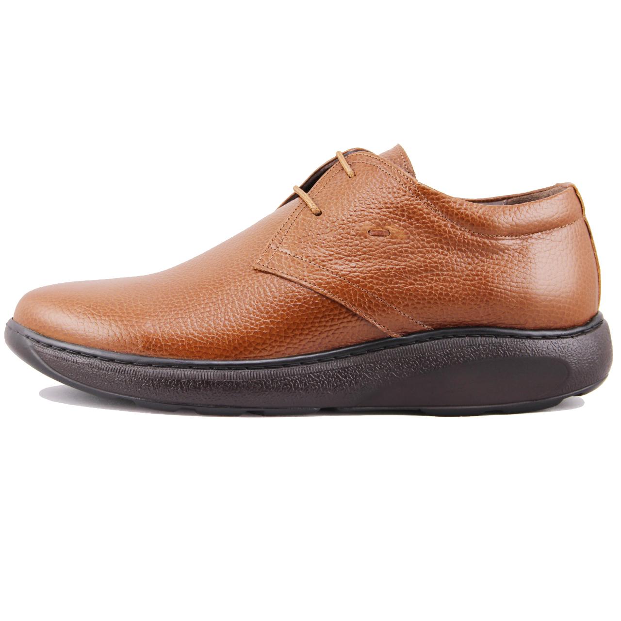 کفش مردانه چرم طبیعی ژاو مدل 2084