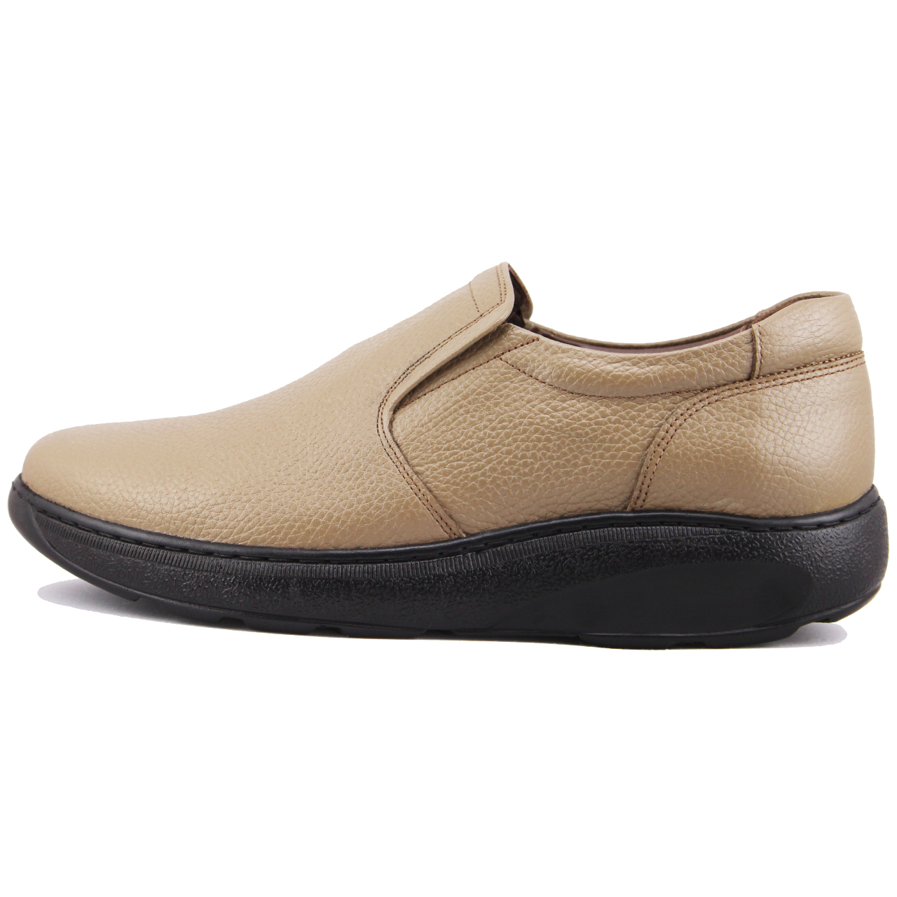 کفش مردانه چرم طبیعی ژاو مدل 2075