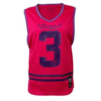 تاپ ورزشی زنانه ترِک ویر مدل Pink 001 | Trec Wear Jersey Trec Girl 001 Pink
