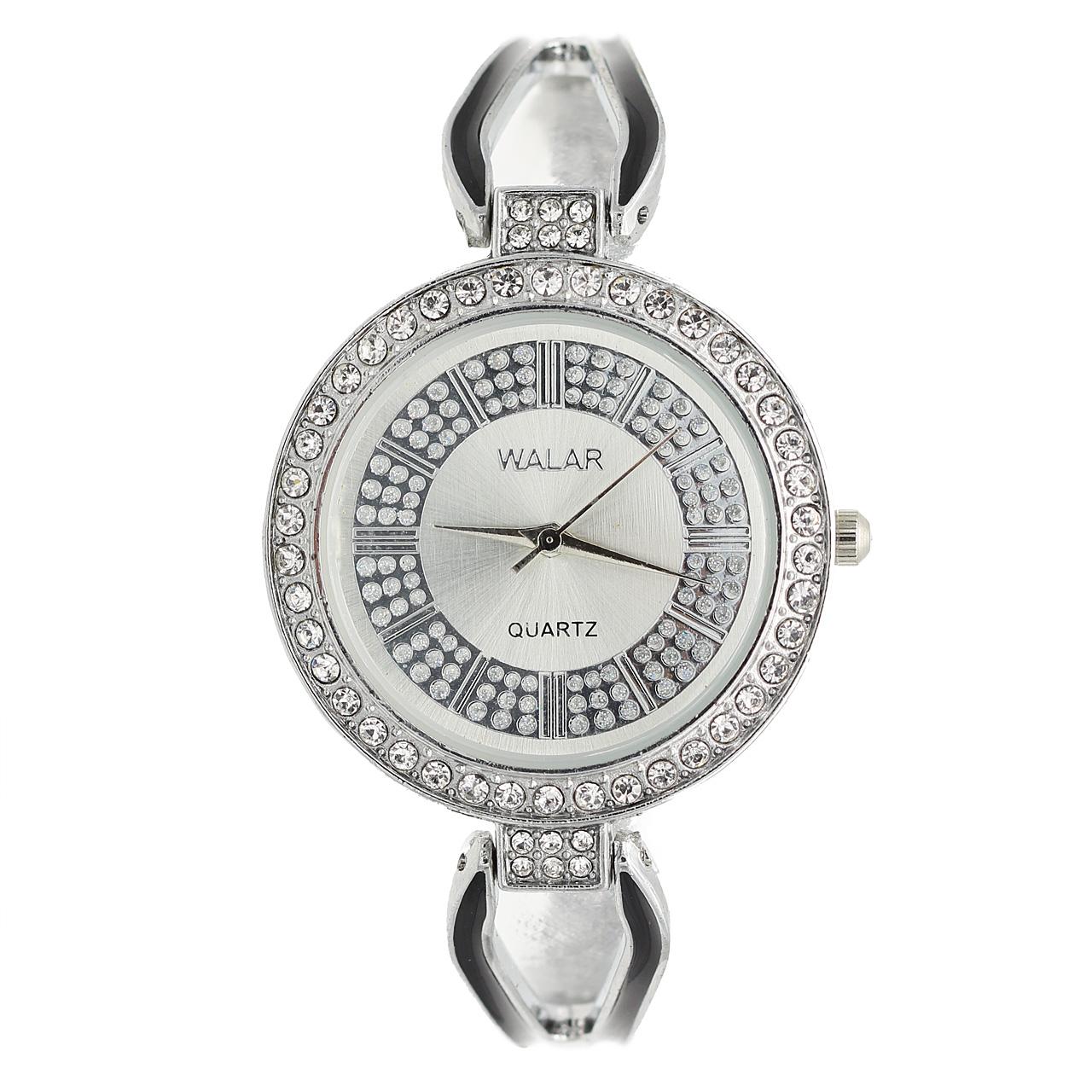 ساعت مچی عقربه ای زنانه والار مدل 120-silver 54