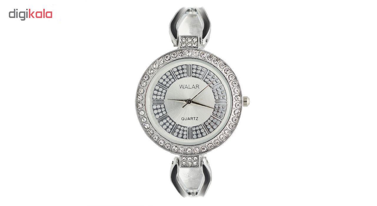 ساعت مچی عقربه ای زنانه والار مدل 120-silver