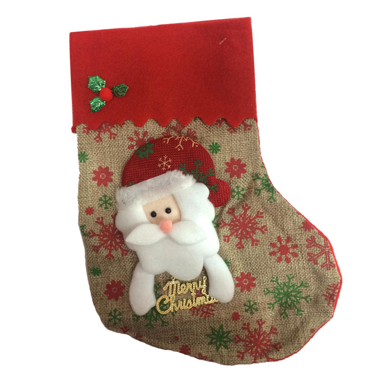 آویز درخت کریسمس مدل Santa Cause