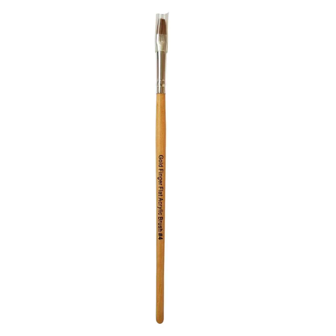 قلم موی کاشت ناخن گلد فینگر مدل GABR200