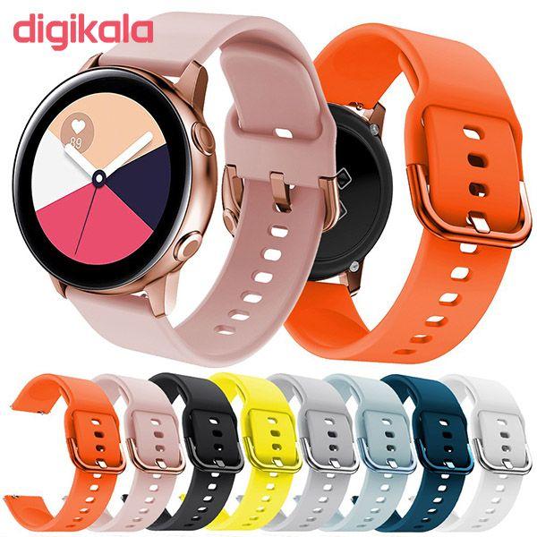 بند مدل nxe مناسب برای ساعت هوشمند سامسونگ Galaxy Watch Active/ Active 2 40 / 44mm main 1 2