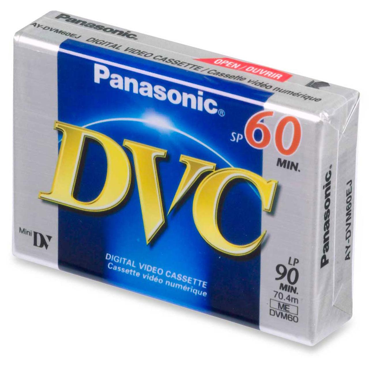 فیلم mini DV پاناسونیک مدل DVC