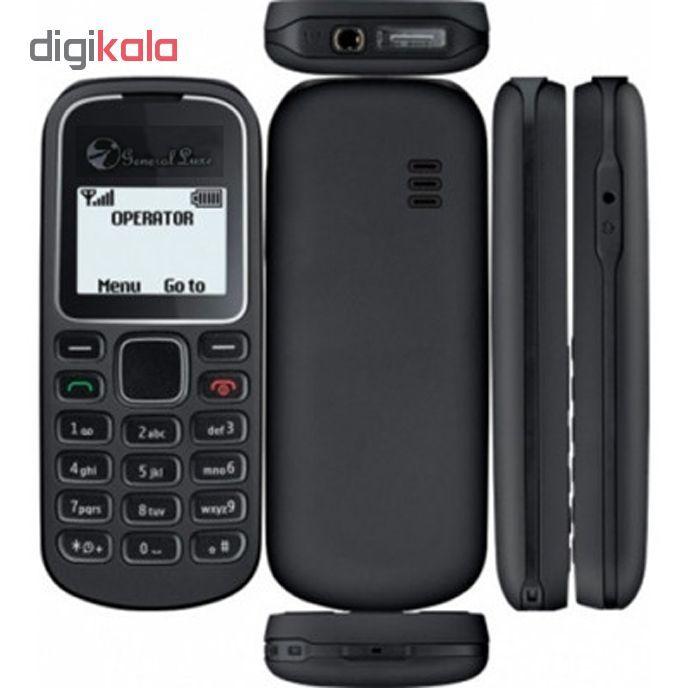 گوشی موبایل جی ال ایکس مدل 1280 تک سیمکارت