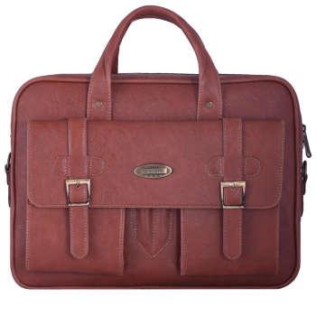 کیف اداری مردانه آدین چرم مدل DP82