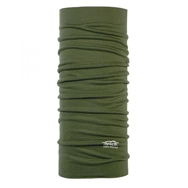 دستمال سر و گردن پک مدل Merino Wool Olive