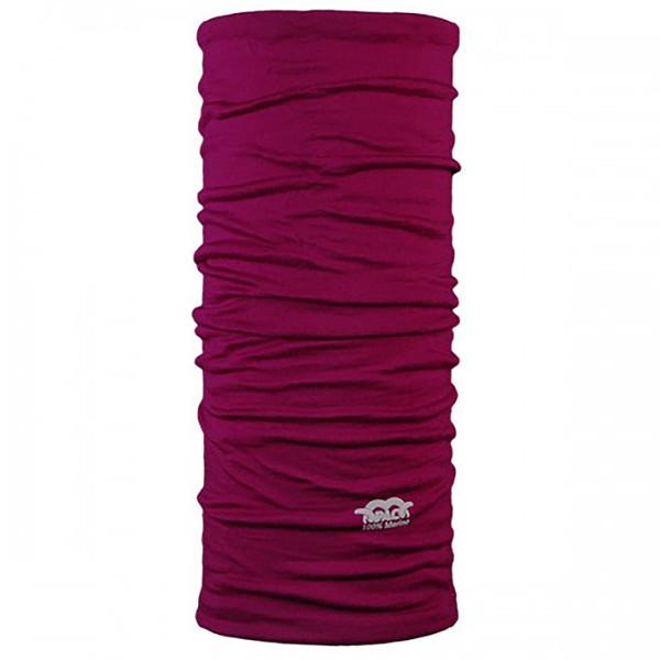 دستمال سر و گردن پک مدل Merino Wool Plum