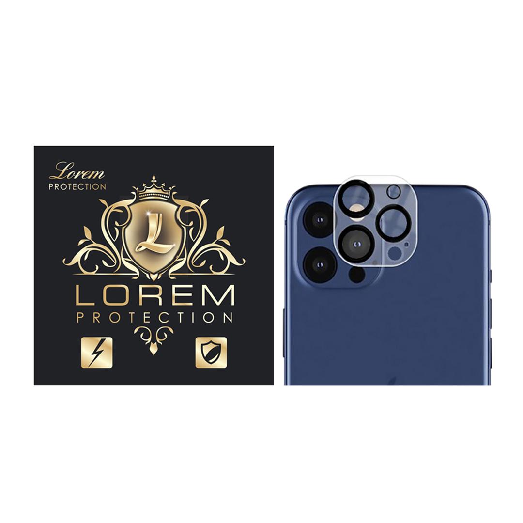 محافظ لنز دوربین لورم مدل LEZ011 مناسب برای گوشی موبایل اپل Iphone 11 Promax