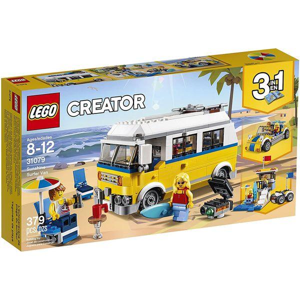 لگو سری CREATOR مدل Sunshine Surfer Van 31079 3in1