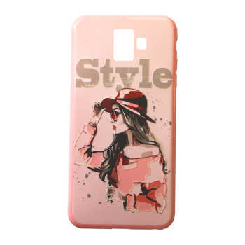 کاور طرح Style کد S2423 مناسب برای گوشی موبایل سامسونگ Galaxy J6 Plus