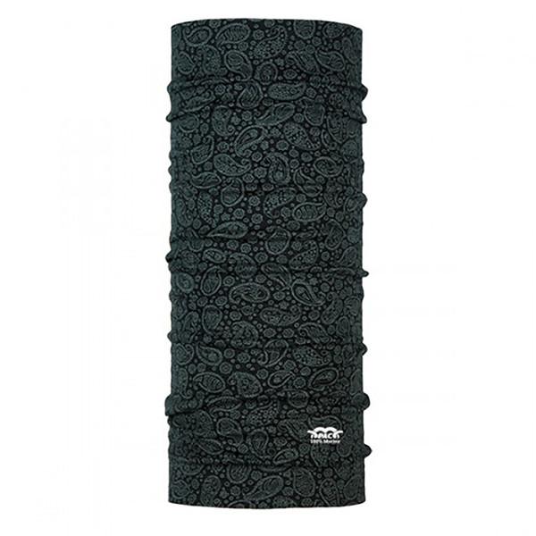 دستمال سر و گردن پک مدل Merino Wool Paisely Black