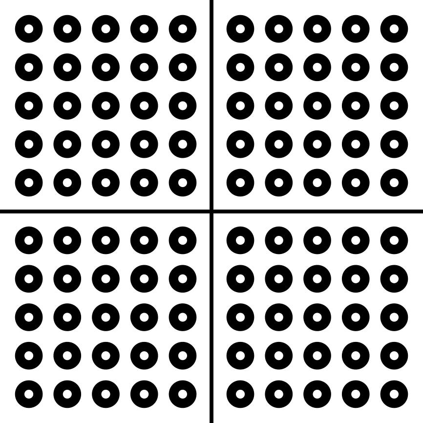 برچسب اسکن مبل طرح نقطه مرجع مدل مستر راد بسته 500 عددی