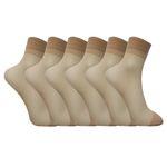 جوراب زنانه مدل adl521 بسته 6 عددی