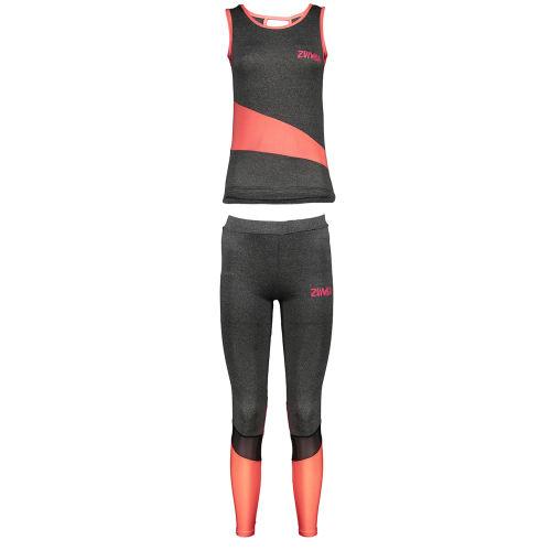 ست تاپ و شلوارک ورزشی زنانه زومبا مدل SU02