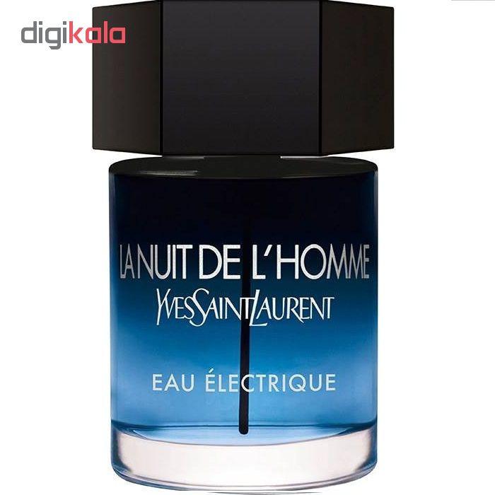 تستر ادوتویلت مردانه ایو سن لوران مدل La Nuit De Lhomme Eau Electrique حجم 100 میلی لیتر