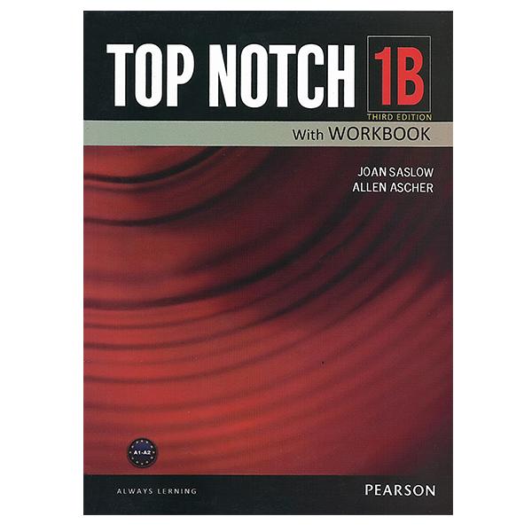 خرید                      کتاب زبان تاپ ناچ 1B اثر Joan Saslow به همراه لوح فشرده