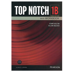 کتاب زبان تاپ ناچ 1B اثر Joan Saslow به همراه لوح فشرده