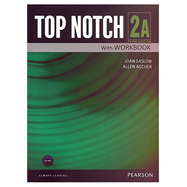 خرید                      کتاب زبان تاپ ناچ 2A اثر Joan Saslow به همراه لوح فشرده