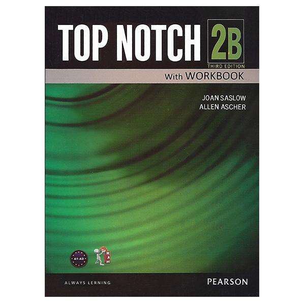 خرید                      کتاب زبان تاپ ناچ 2B اثر Joan Saslow به همراه لوح فشرده