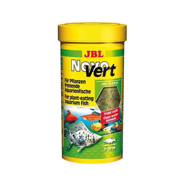 غذای ماهی های گیاهخوار جی بی ال مدل Novo Vert مقدار 16 گرم