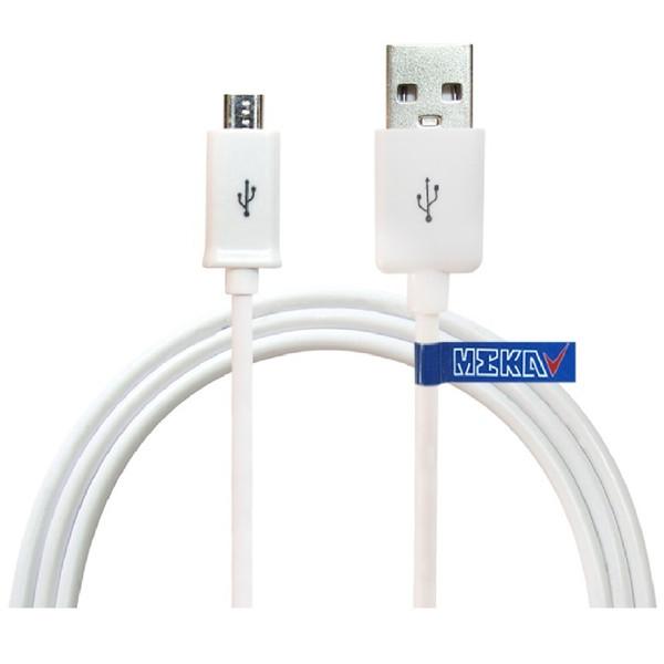کابل تبدیل USB به microUSB مکا مدل MCU12 طول 2 متر