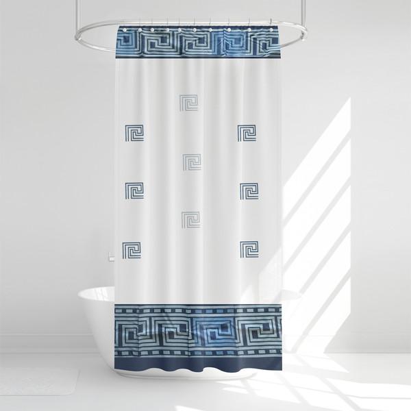 پرده حمام آرمیتا کد W041 سایز 180 × 200 سانتی متر
