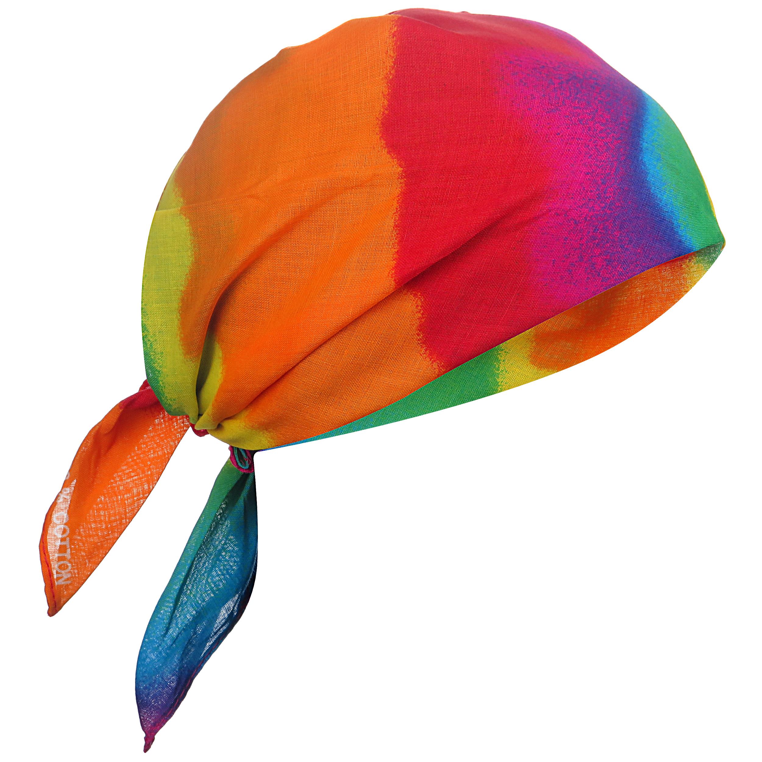 دستمال سر و گردن مدل ابرنگی