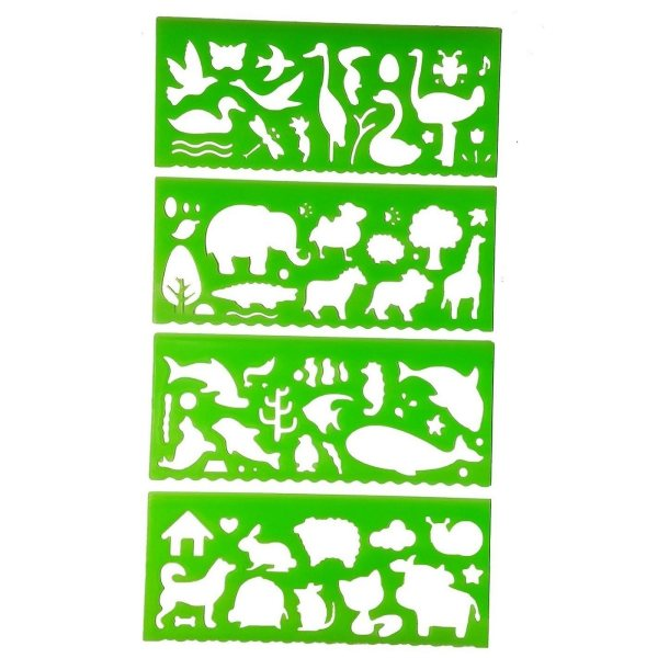 شابلن مدل حیوانات جنگل بسته 4 عددی